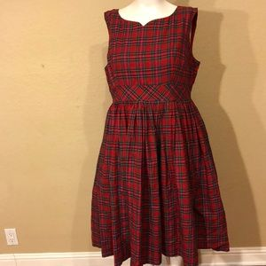 ModCloth Fit & Flare Vintage Inspired Plaid Dress